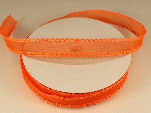 `Лента декоративная, ширина 15 мм(213002), цвет: №8 оранжевый