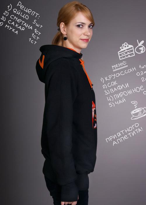 89491811 Купить толстовку Лиса с ушками на капюшоне в интернет-магазине ...