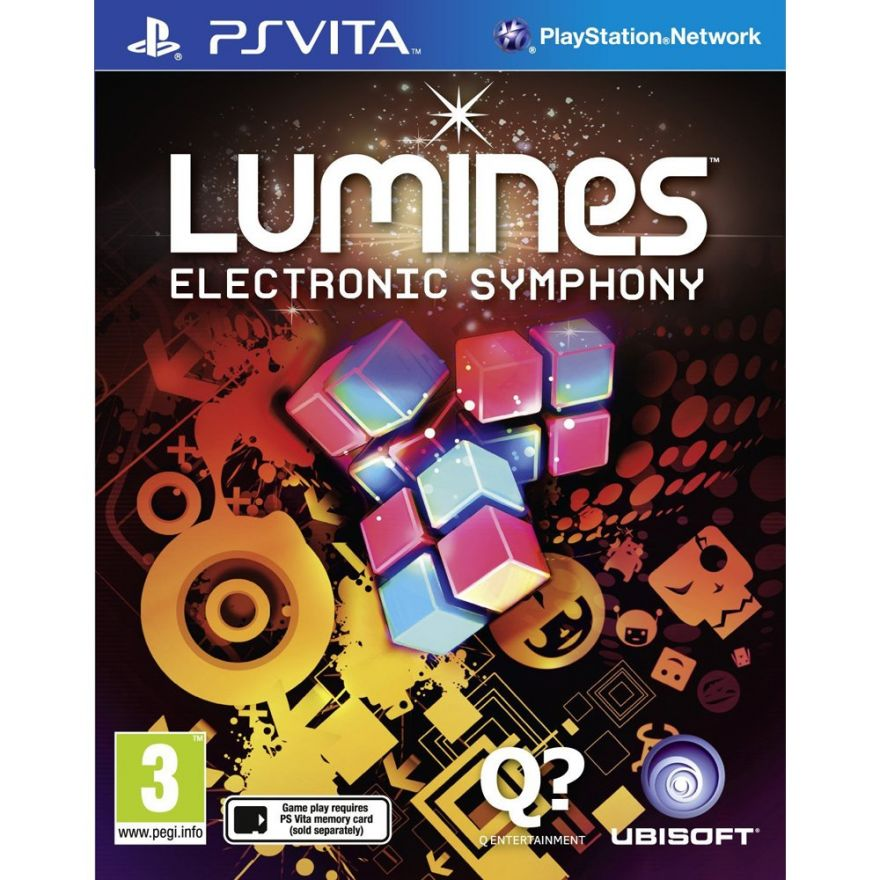 Игра Lumines Electronic Symphony (PS Vita)