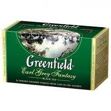 Чай Гринфилд Эрл Грей Фэнтази черн. с бергам. 2г 25пак.