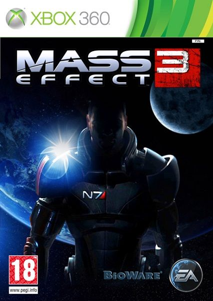 Игра Mass Effect 3 (Xbox 360, русские субтитры)