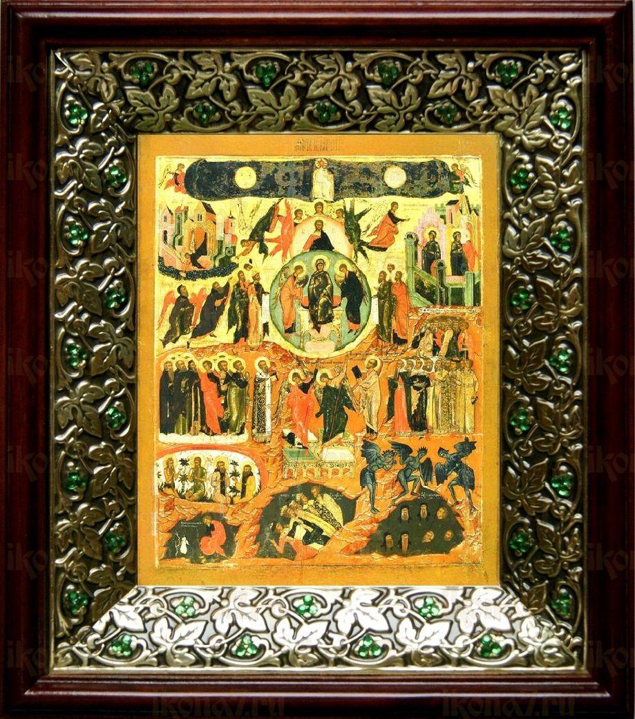 Вертоград Заключенный (21х24), киот со стразами