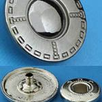 Кнопки металлические по 40 штук
