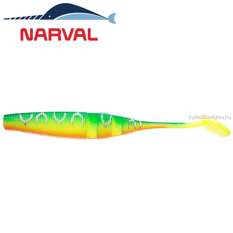 Купить Мягкие приманки Narval Loopy Shad 15sm #002 Blue Back Tiger (3 шт в уп)