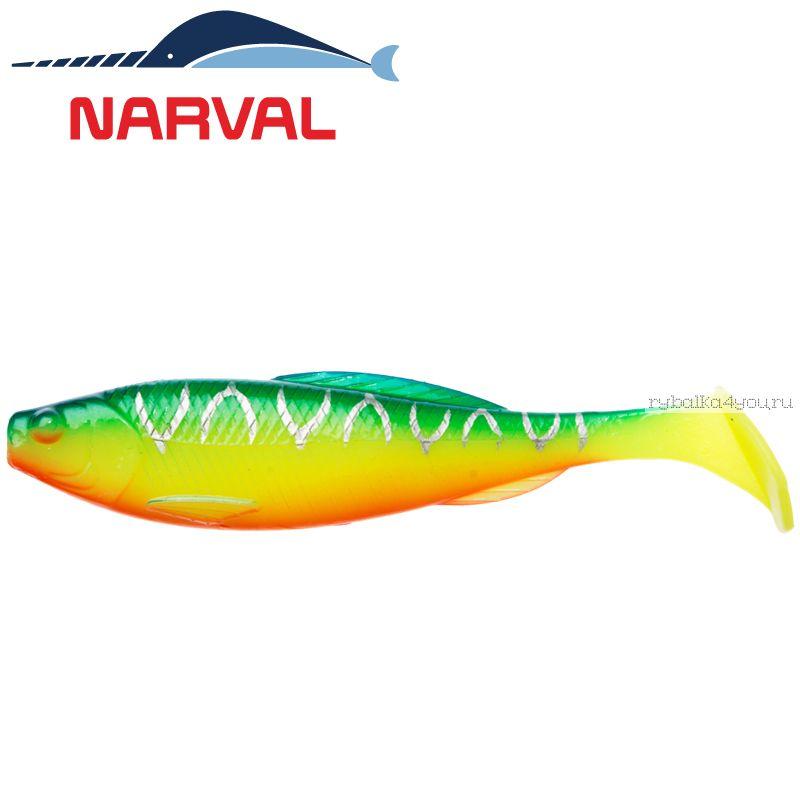 Купить Мягкие приманки Narval Troublemaker 10sm #002 Blue Back Tiger (5 шт в уп)