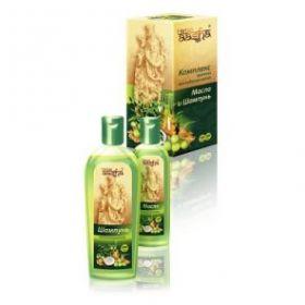 Комплекс против выпадения волос Шампунь (200мл) + масло (100мл), (Ааша Хербалс)