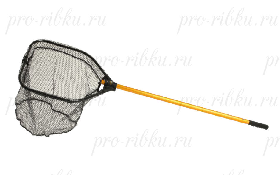 "Подсак FRABILL POWER STOW NET складной, обруч 14x18"", глубина 15"", ячейка 3/8"", ручка 24х36"""