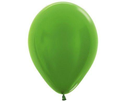 Гелиевый шар салатовый