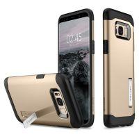 Чехол Spigen Slim Armor для Samsung Galaxy S8 золотой