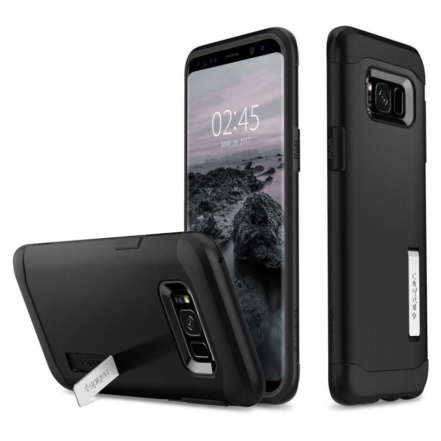 Чехол Spigen Slim Armor для Samsung Galaxy S8 черный