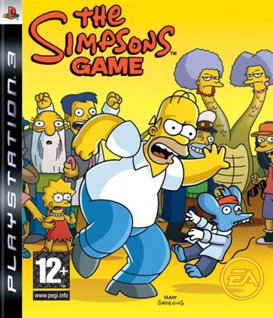 Игра The Simpsons Game (PS3)