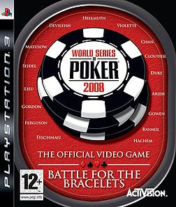 Игра World Series of Poker 2008 (PS3)