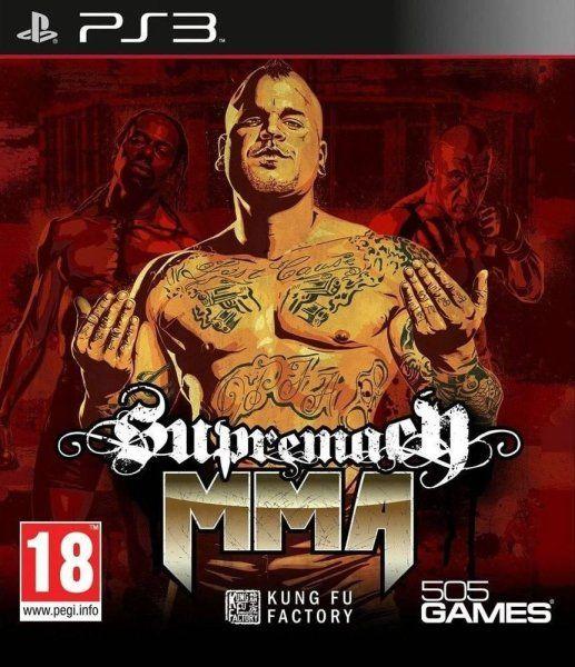 Игра Supremacy MMA (PS3)