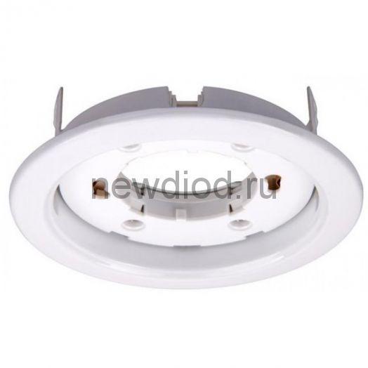 Светильник встраиваемый GX53R-ECO пластик под лампу GX53 230В белый IN HOME