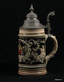 Пивная кружка, 1/2л, Marzi & Remy, Германия, 1890-е