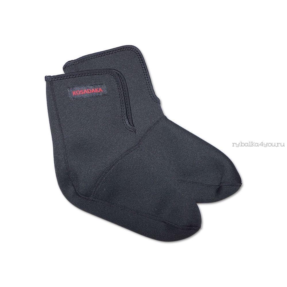 Купить Носки неопреновые Kosadaka NS25-L Neoprene socks-25 черные