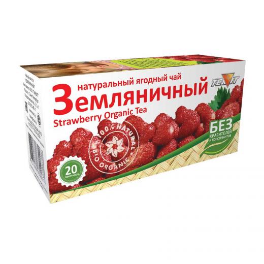 """Чайный напиток """"Земляничный"""" (20фильтр-пакетов)"""