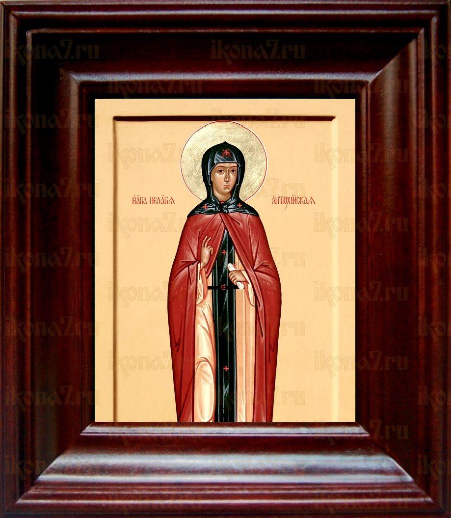 Пелагея Антиохийская (21х24), простой киот