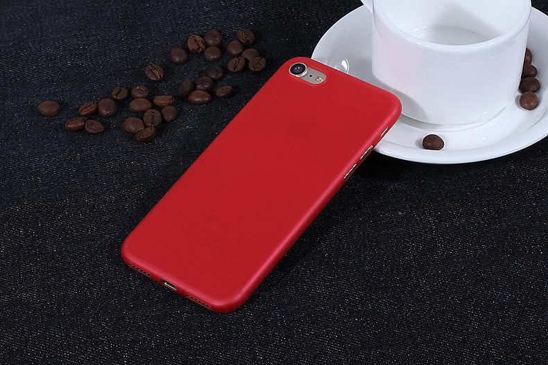 УЛЬТРА ТОНКИЙ ЧЕХОЛ 0.3ММ ДЛЯ IPHONE X (Красный)