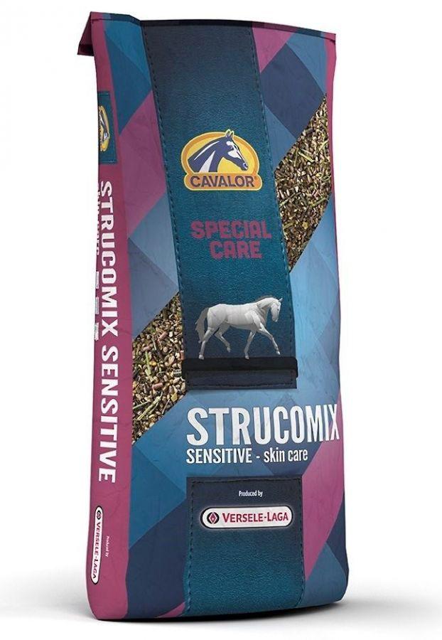 Strucomix Sensitive мюсли для лошадей с чувствительной системой пищеварения 15 кг Cavalor