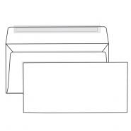 Конверт E65 110*220 белый  отрывная лента