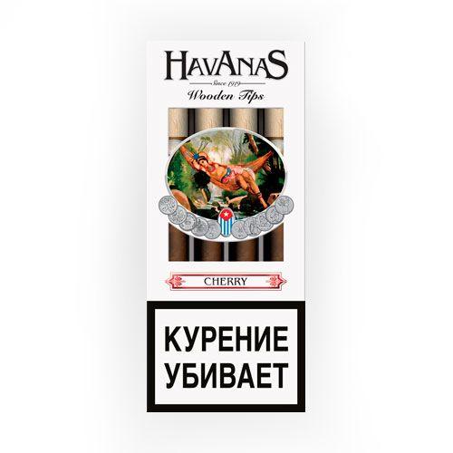 Сигариллы Havanas Cherry 4 шт.
