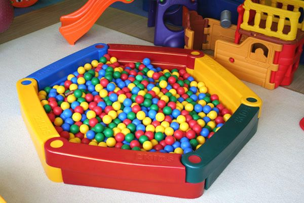 Детская пластиковая песочница 2KIDS (6 элементов)