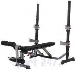 Скамья силовая со стойками Body Craft F609