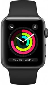 Apple Watch Series 3 42mm Black