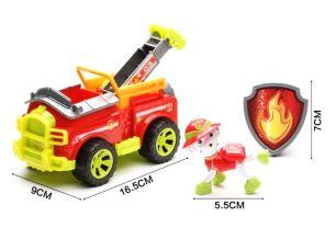Фигурка Маршала на пожарной машине с музыкой и светом, серия Джунгли