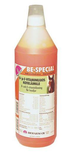 """Black Horse. Витамины """"В"""", """"Е"""", селен и биотин.  1 литр"""