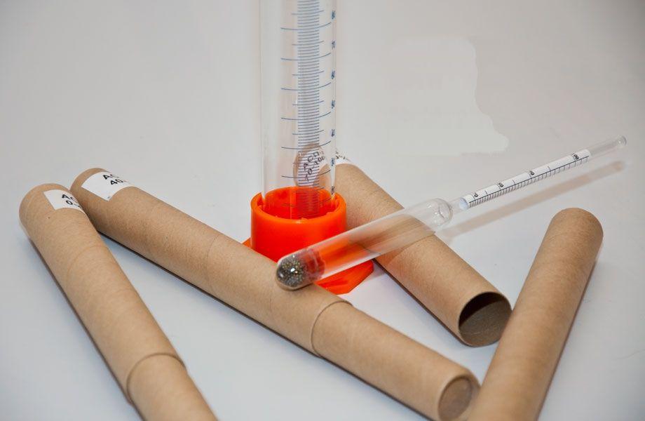 Набор профессиональных ареометров-спиртометров + мерный цилиндр на 250 мл