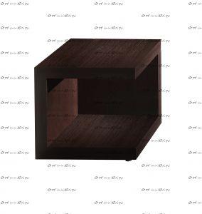 Тумба прикроватная Hyper (спальня) 44х44х43
