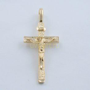 Позолоченный мужской крест