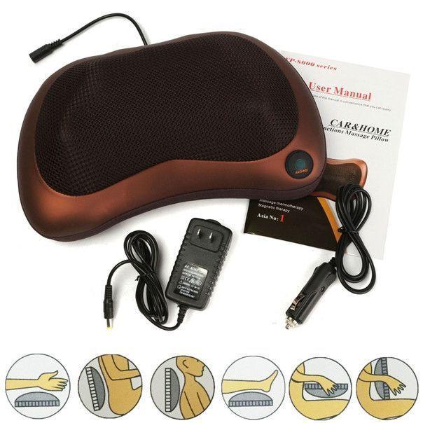 Массажная подушка массажер CHM-8028
