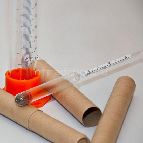 Комплект ареометров + мерный цилиндр