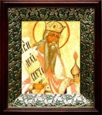 Захария, пророк (21х24), киот со стразами