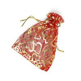 Подарочный мешочек из органзы 8*10см.