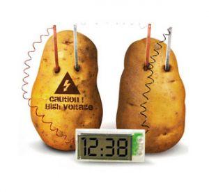 Часы идущие от картошки