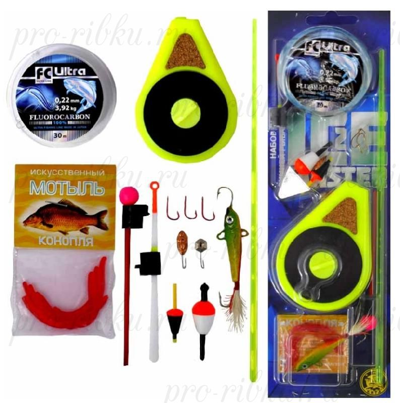 """Набор для зимней рыбалки """"Три Кита"""" Ice Master №2 (макси)"""