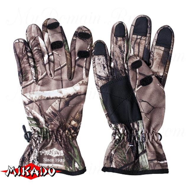 Перчатки рыболовные Mikado UMR-07 размер XL, шт