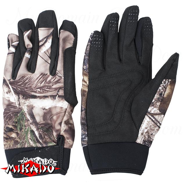 Перчатки рыболовные Mikado UMR-09 размер M, шт