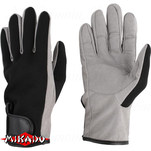 Перчатки рыболовные неопреновые Mikado UMR-05 размер XL, шт