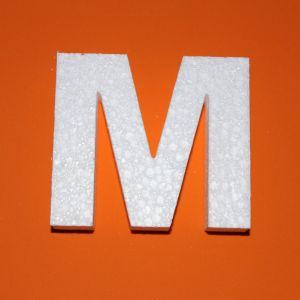 "`Буква ""М"" 10 см, пенопласт"