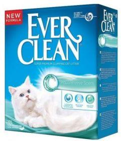 Наполнитель Ever Clean Aqua Breeze Scent комкующийся, с ароматом морской свежести 6л