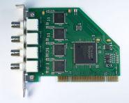 AViaLLe PCI-8.4 Плата видеозахвата на 8 каналов видео по 6-8 кадров в секунду на канал, интерфейс PCI.