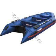 Лодка NISSAMARAN надувная, модель MUSSON 360, цвет синий (дерев. пол) P/L