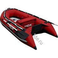 Лодка HDX надувная, модель OXYGEN 240 AL, цвет красный