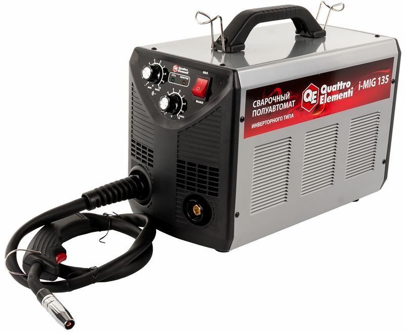 Сварочный инвертор полуавтомат QUATTRO ELEMENTI i-MIG 135