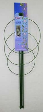 Поддержка для цветов металлическая круглая  (длина 60см)